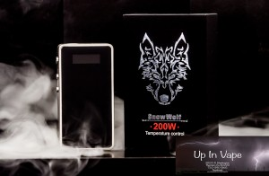 The SnowWolf 200W Box Mod is an advanced device with groundbreaking technology. It features temperature control mechanics, a magnetic battery door, as well as a whopping power output of 200 watts making the Snow Wolf 200 watt a truly remarkable device