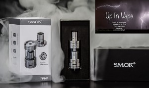 TFV4 by Smok the original top Refill Tank by Smok. A monster of a sub ohm tank by SMOK called the TFV4 (Taste furious V4). This sub ohm tank comes with a triple coil, quadruple coil, and also a very impressive RBA section. The SMOK TFV4 holds 5ml of e-juice and features a unique cooling drip tip as well as a unique top fill function.