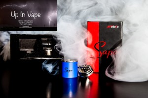 The Sapor RDA by Wotofo is an original, affordable top airflow rebuildable dripping atomizer that features a deep 6mm juice well, a split positive post, fully adjustable dual top airflow, and a clean elegant look. The Sapor RDA features a redirected dual top airflow style, with each airflow slot measuring an ample 12mm by 2mm, allowing for tremendous airflow while fully open. This can also be throttled down for flavor and heat adjustments, while the unique airflow path allows for a high amount of swirl and turbulence across the chamber. The deck features a split positive post anchored with a square PEEK insulator, minimizing post turning. Deckmilled squared negative posts ensure durability with each posthole measuring 2.5mm each to accommodate a wide variety of coil configurations. Each Sapor also features a hidden 510 Adapter that can used with the included PEEK Shorty Widebore Friction Fit Drip Tip or removed entirely and replaced with the included Wotofo 11mm Broadcap. Manufactured out of high grade Stainless Steel and German Made PEEK Insulators, the Sapor RDA by Wotofo is a fully featured top airflow system with enormous value. Vapor Shop Thornton Colorado