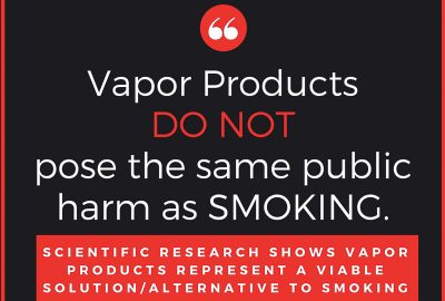 Vapor Products DO NOT pose the same public harm as SMOKING. Scientific Research shows vapor products represend a viable solution / alternative to smoking. Vapor Shop Thornton Colorado