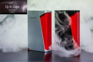 SMOK H-Priv 220W TC Mod The SMOK H-Priv 220W TC Box Mod is a visually striking platform with a suite of advanced power and incredible accuracy, featuring a staggering 220W of maximum output, signature Red Triangle firing mechanism, innovative magnetic battery cover, and an exquisite structural design. The H-Priv's internal system is notably intelligent, integrated with output range up to an impressive 220 Watts, minimum atomizer resistance of 0.06ohm, and versatile temperature control regulation to pair and fire with practically any RDA,RTA, and Sub-Ohm Tank. Built-in with Adjustable Initial Resistance to prevent contact problem alongside sensing technology to enhance consistency of every puff and improve resistance accuracy up to plus/minus 0.01ohm. A crowning achievement in design and inspired by the spectacular X Cube II, the H-Priv implements an eye-catching Red Triangle firing mechanism as a futuristic aesthetic, while doubling down as a comfortable ergonomic form factor.The intuitive control OLED features a user-friendly arrangement, with neatly organization readouts of essential information next to the dual adjustment buttons. A newly integrated magnetic battery cover design with injection molding alongside ventilation holes and 24K Gold-Plated terminals greatly improves battery removal convenience and safety protections. A highly refined platform with a premiere output technology and visually stunning impression, the SMOK H-Priv 220W TC Box Mod epitomizes the culmination of industrialized manufacturing and futuristic design. SMOK H-Priv 220W TC Mod Features: • Dual 18650 High Amp Batteries - Not Included • Wattage Output Range: 6~220W • Voltage Output Range: 0.35~8V • Temperature Range: 200-600F • Atomizer Min Resistance: 0.06ohm • Resistance Accuracy: +/- 0.01ohm • Premium Zinc Alloy Construction • Durable Soft Feel and Shiny Finish • Intuitive Top-Screen OLED Display • Adjustable Initial Resistance Technology • Intelligent Atomizer Recognition • Striking Red Triangle Firing Mechanism • Dual Adjustment Buttons • Magnetic Battery Cover - 24K Gold Terminals • Ventilation Holes • Overheat Protection • Puff Monitoring System • 12 Seconds Cut-Off • Overheat Protection • Short-Circuit Protection • Low Battery Warning • MicroUSB Port - Firmware Upgradeable • 510 Center Pin In order to use temperature control feature, it requires use of nickel, titanium, or stainless steel coils and must be built with non-resistant wire. E-Cig Store Thornton