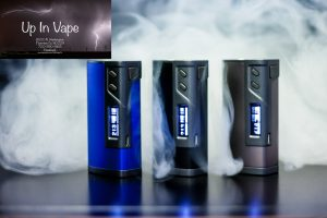 "Sigelei Fuchai 213 Temperature Control Box Mod Sigelei is proud to introduce their next step in vaping technology, the Sigelei Fuchai 213 Temperature Control Mod. Based on feedback on the original Sigelei 213, the Sigelei Fuchai 213 now utilizes Celsius based TCR calculation. The Sigelei Fuchai 213 also now features an aluminum alloy construction for a smooth and comfortable grip. Other then these two changes, the Sigelei Fuchai 213 retains all of the original features of the Sigelei 213 at a budget friendly price. Sigelei is well known for their powerful, durable box mods and the Sigelei Fuchai 213 TC Mod is no different. The Sigelei 213 Fuchai features a chip which allows you to fire at an incredible maximum wattage of 213 watts. The Sigelei Fuchai 213 TC Mod also features temperature control modes supporting Nickel 200 (Ni200), Titanium (Ti), and Stainless Steel 304,316,317 (SS) coils. The Sigelei 213 Fuchai TC Mod also features the Temperature Coefficient of Resistance (TCR) and Temperature Factor of Resistivity (TFR) mode as well. The Sigelei Fuchai 213 TC Mod requires (2) high amp 18650 batteries (sold separately) which is easily replaced using the sliding battery door cover located at the bottom of the device. The Sigelei Fuchai 213 TC Mod may be charged using the micro USB port located on the side of the device. The Sigelei Fuchai 213 TC Mod also features a clear and informative OLED display screen that shows the status of your device and a flush firing button. The Sigelei Fuchai 213 Temperature Control Mod is a worthy successor to the past box mods such as the Sigelei Fuchai and Sigelei 150W TC mods. With the beautiful aluminum finish, improved TCR mode, increased wattage output and the expanded temperature control modes; the Sigelei Fuchai 213 TC Mod is designed for the cloud chasing enthusiast. Features and Specs: • Dimensions: 3-1/2"" x 1-5/8"" x 1-1/8"" • Spring-loaded Contact Pin • Stainless Steel 510 Threads • Operating Wattage: 10.0 - 213.0 W • Output Voltage: 1.0 - 7.5 V • Temperature Control: Nickel 200 (Ni200), Titanium (Ti), Stainless Steel 304, 316, 317 (SS), TCR, TFR Modes • Now Utilizes Celsius Based TCR Calculation • Temperature Range: 100 - 300°C / 200-570°F • Resistance Range: 0.1 - 3.0ohm • Maximum Working Current: 35A • Aluminum Alloy Construction • Requires (2) High Amp 18650 Batteries (Sold separately) • *External charger recommended for optimal charging speeds* • Sliding Battery Door Cover • OLED Display Screen • Micro USB Charging Port (DC 5V/2A) • High Input Voltage Warning • Reverse Battery Protection • Battery Imbalance Protection • Short Circuit Protection • Overheating Prevention Please note: Temperature control requires the use of nickel, titanium, or stainless steel coils. The Sigelei Fuchai 213W will include a 30 day Limited Warranty against any manufacturing defects from the date of delivery. Scratches and discoloration from regular use is considered normal wear and tear and is not covered by warranty. NOTE: Use special caution when working with Li-ion cells, they are very sensitive to charging characteristics and may explode or burn if mishandled. Make sure the user has enough knowledge of Li-Ion rechargeable batteries in charging, discharging and assembly before use. Always charge in/on a fire-proof surface. Never leave charging batteries unattended. We are not responsible for damage if there is any modification of the batteries/chargers in any form or shape (including pack making). We are not responsible for any damage caused by misuse or mishandling of Li-Ion batteries and chargers. This device should only be used with rechargeable Lithium Ion IMR batteries with an amp limit of 20A or higher. Using other batteries can be potentially hazardous. Up In Vape will not be held responsible or liable for any injury, damage, or defect, permanent or temporary that may be caused by the improper use of a LI-ION battery. Please have a basic understanding of the batteries you are using and how to care for them properly.   Package Contents: 1 x Sigelei Fuchai 213W TC Mod