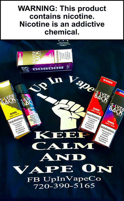 Amazing Flavors In Stock from the folks over at SilverBack Juice Co. At Up In Vape Thornton Colorado.