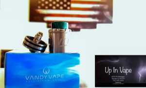 Vandy Vape introduces the Lit , a atomizer that is capable of being utilized as a bottom fed dripping atomizer, a single post spring loaded dual clamp style build deck, dual style rhombus airflow system, and measures at 24mm diameter. The Lit 24 has a 7mm deep juice well with centralized juice splitter for even juice distribution. The single post spring loaded dual clamp style build deck allows users to build in three different ways, horizontal builds, mesh builds, and vertical builds, allowing for versatility and user preference. Airflow enters the Lit RDA through dual rhombus style airflow design, featuring dual airflow tube options; Two seven (7) slotted airflow control measuring at 1mm, 2.5mm, 4.5mm, and 6mm, while the other airflow tube options features twenty (20) 1mm airslots, both airtube options are fully closable and fully adjustable. The Lit 24 uses the popular 810 drip tip system and comes with an ULTEM wide bore drip tip, a resin wide bore drip tip, a delrin wide bore drip tip, and a 510 drip tip adapter. The golden 510 pin can be changed to a squonk-ready pin for any bottom feeding device. The Vandy Vape Lit 24 BF RDA was designed for maximizing flavor and vapor production in an easy to build design for anyone looking for a smooth and stylish rebuildable atomizer. E-Cig Thornton Colorado