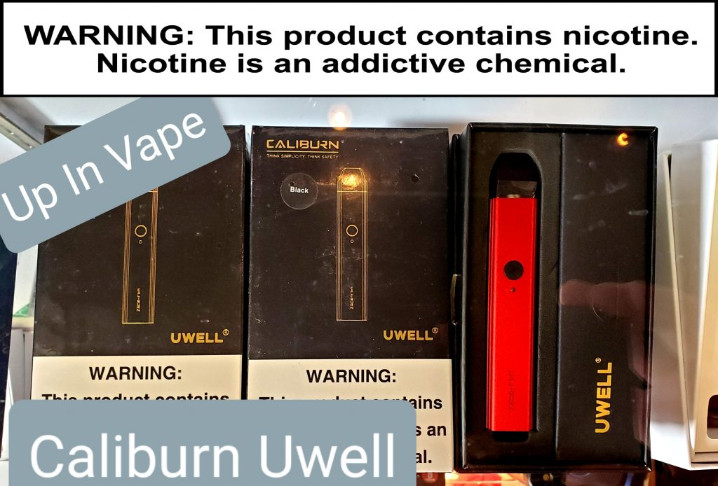 """In Stock!! Uwell Caliburn!! Stop in and check them out!  Up In Vape 8520 N. Washington Unit O Thornton Co. 80229 720-390-5165  21 or older to Vape """"WARNING: This product contains nicotine. Nicotine is an addictive chemical.""""  . . . . .  Vapor Shop Thornton Up In Vape  #vape #vaper #vapor #vapeshop #vaporshop #colorado #vapelife #vapedaily #vapefam #notblowingsmoke #vapeon #vapelifestyle #vapeforlife #vaper #vapor #vaping #vapingfriends #vapingstyle #vapinglife #vapingfam #vapingfresh #vapeoftheday #vapelife #cloudchaser #vapestagram #vapecommunity #5280 www.up-in-vape.com"""